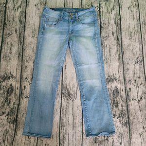 American Eagle AEO Artist Crop Super Stretch Jean